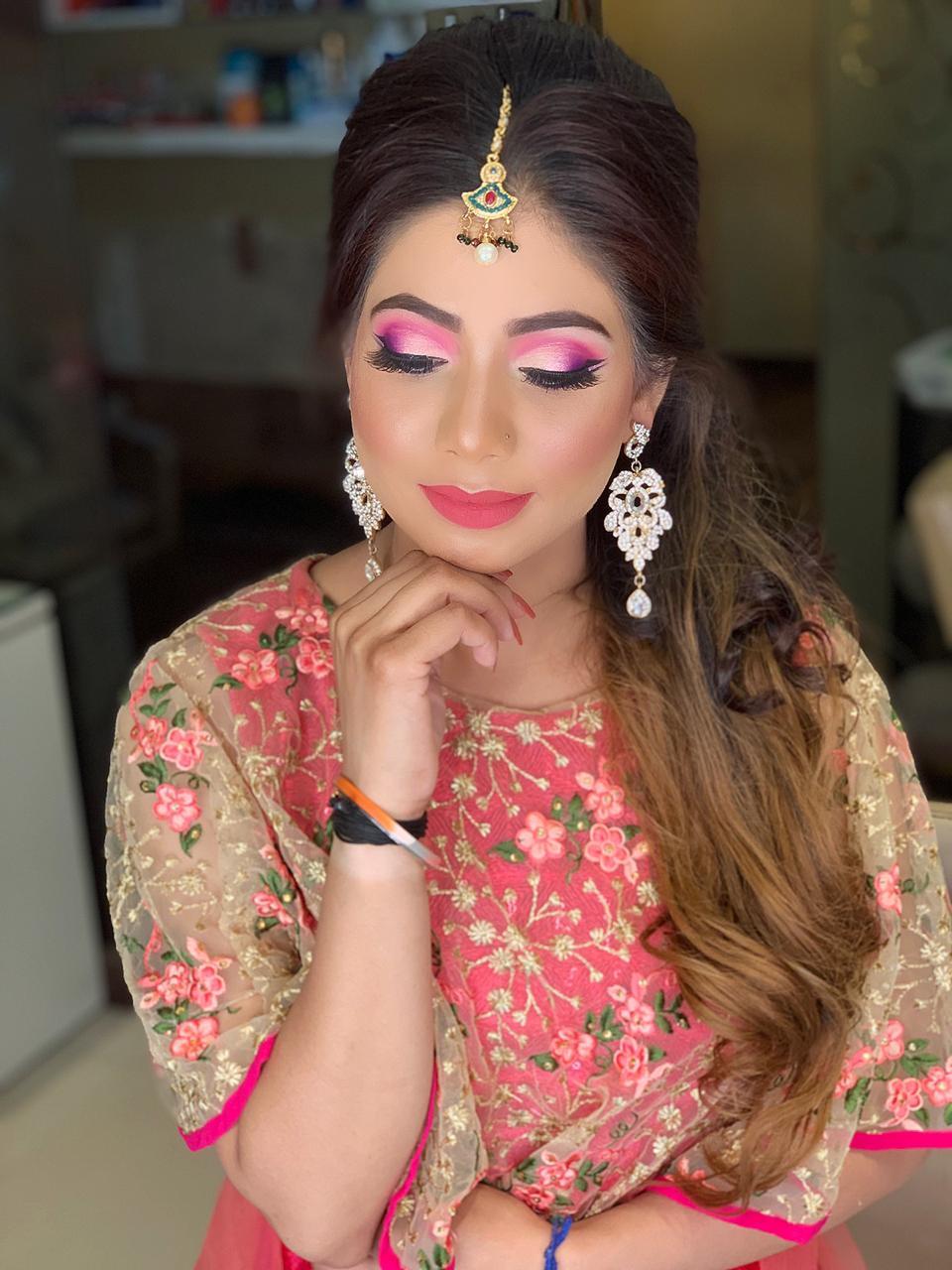 makeup academy in delhi student work 9