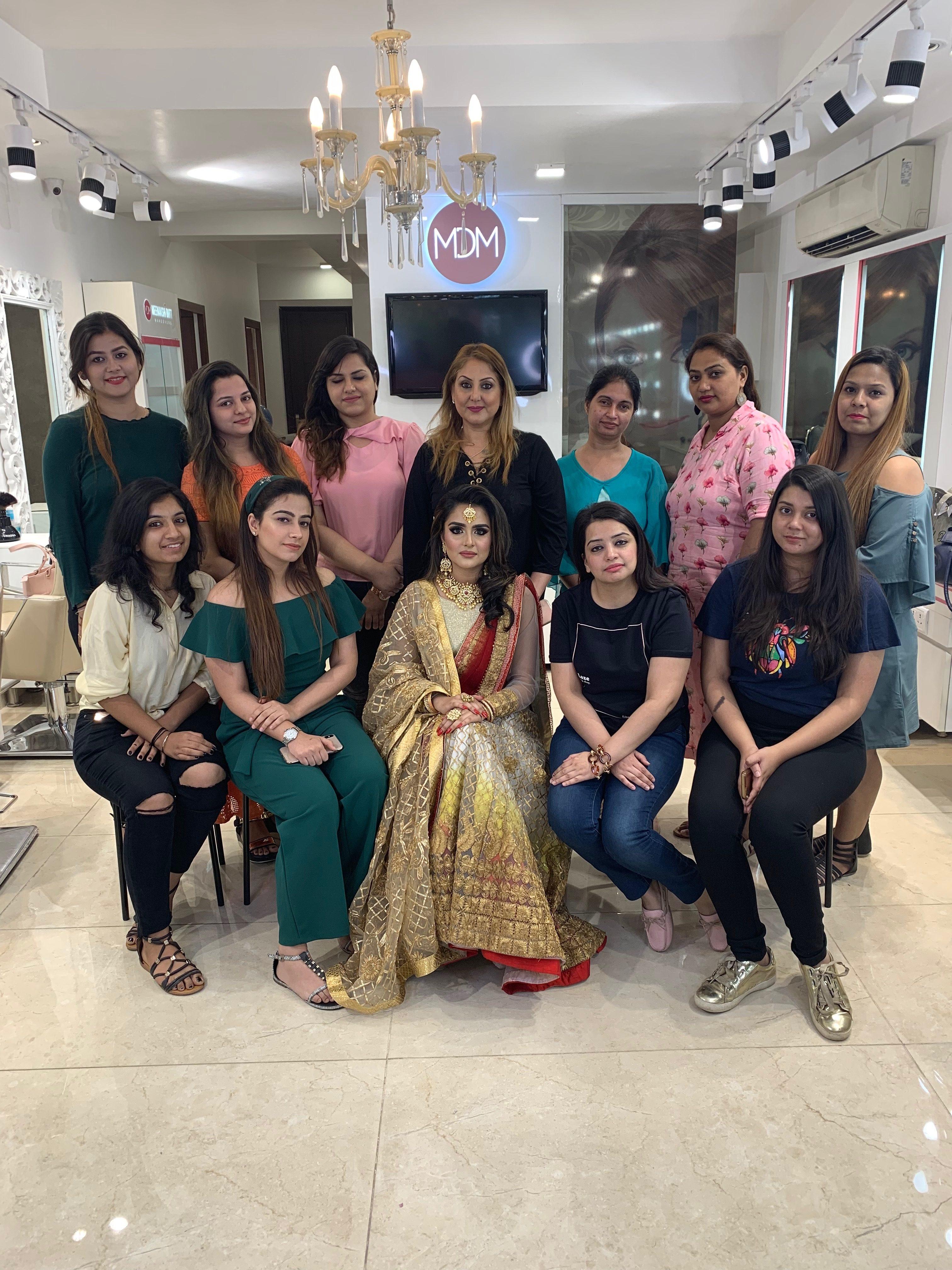 MDM Makeup Academy in Delhi