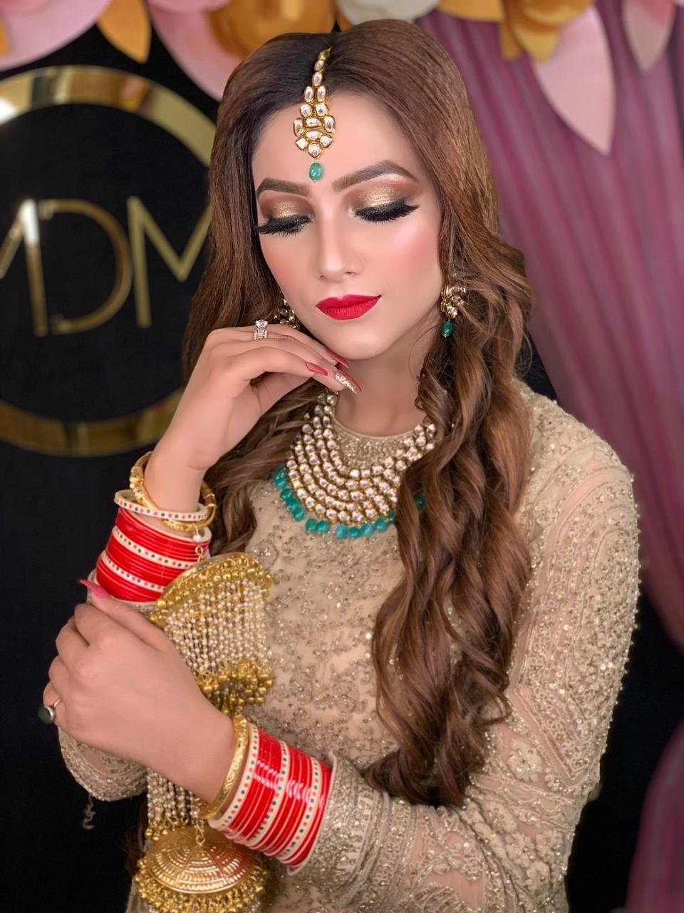 makeup academy in delhi student work 1