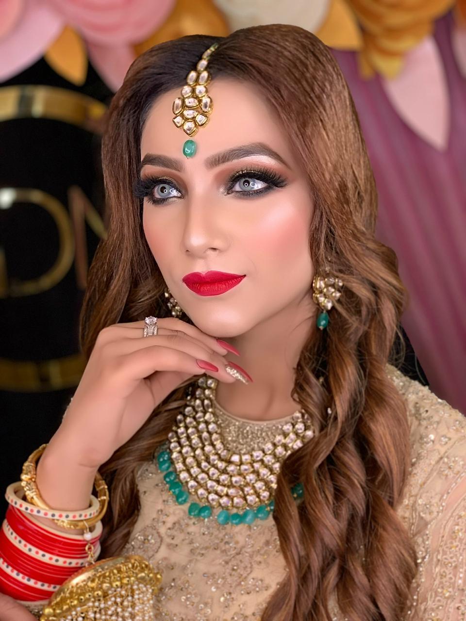 makeup academy in delhi student work 2