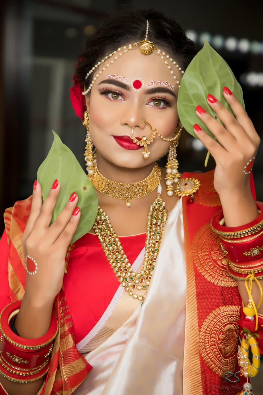 makeup academy in delhi student work 8