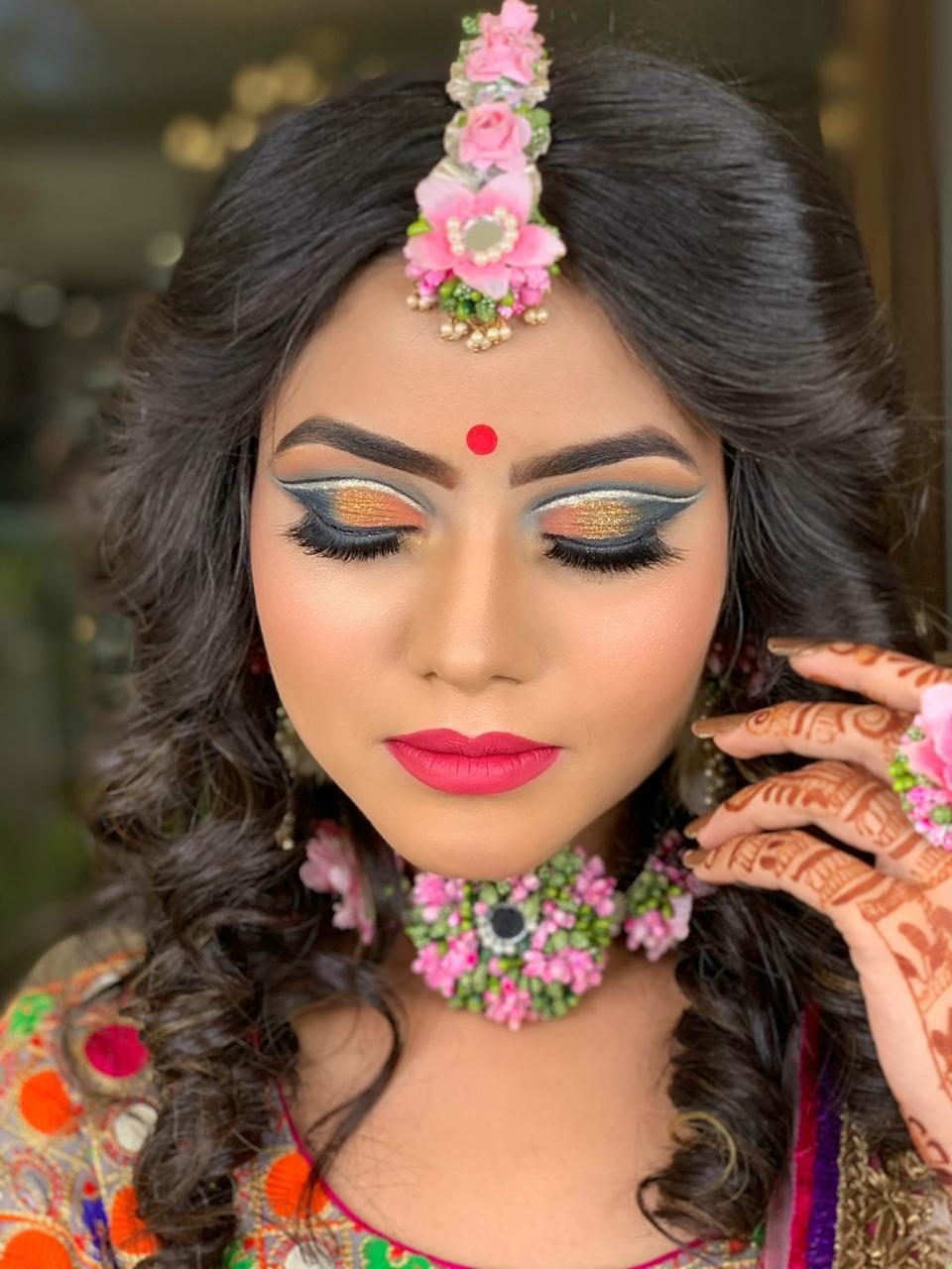 makeup academy in delhi student work 4