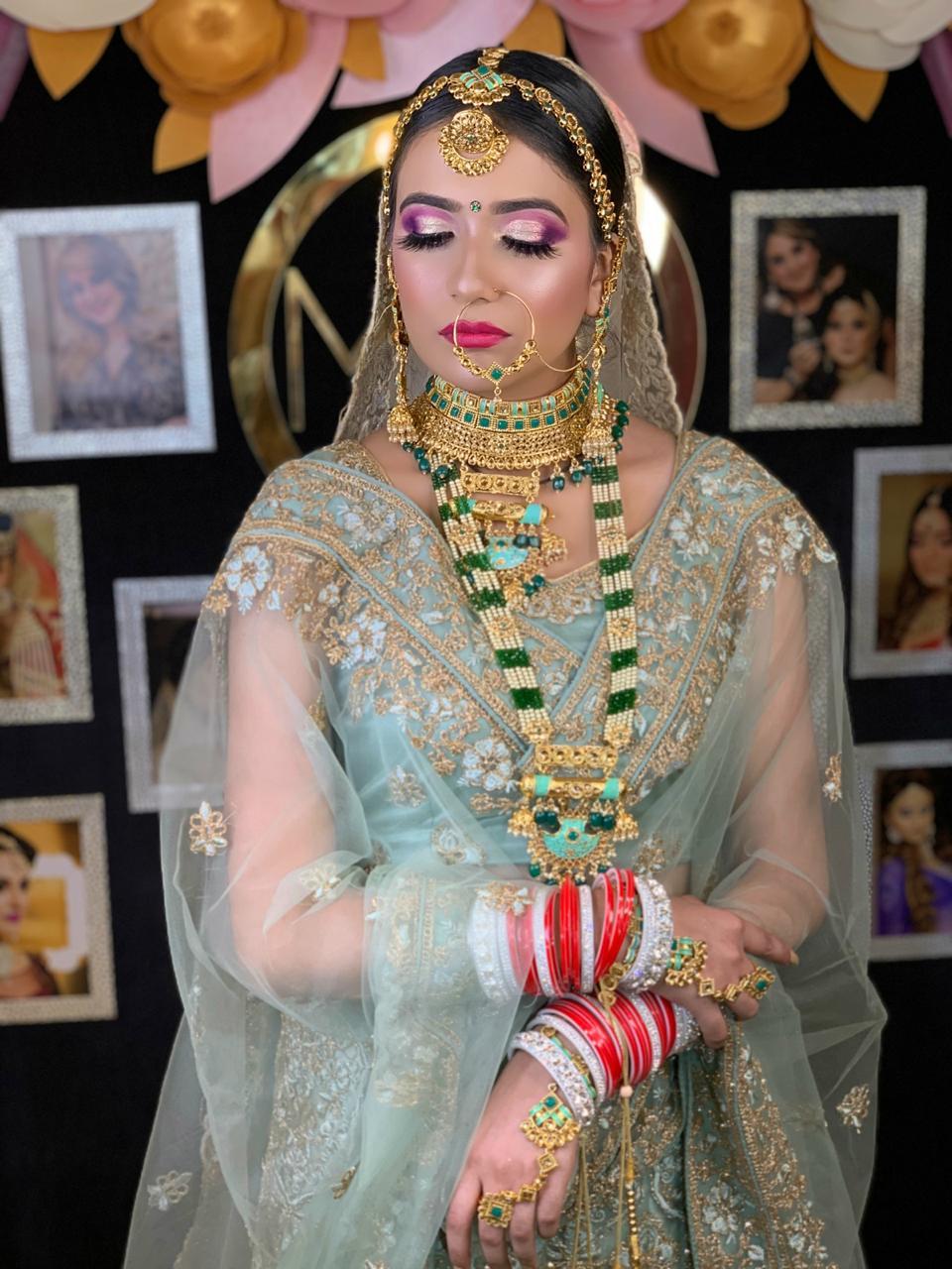makeup academy in delhi student work 5