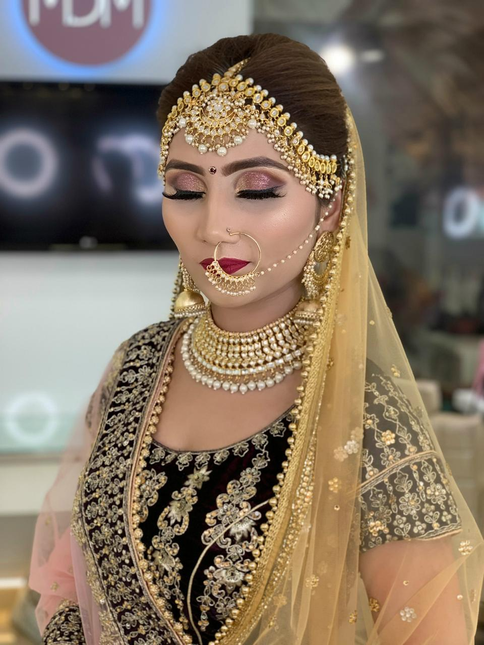 makeup academy in delhi student work 6