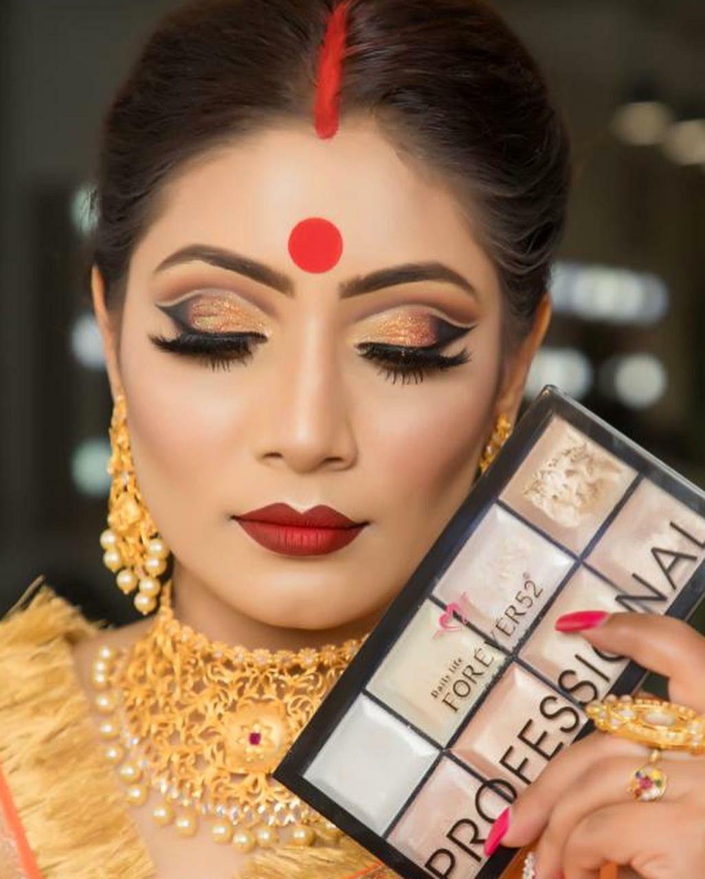 makeup artist in lucknow - look 2