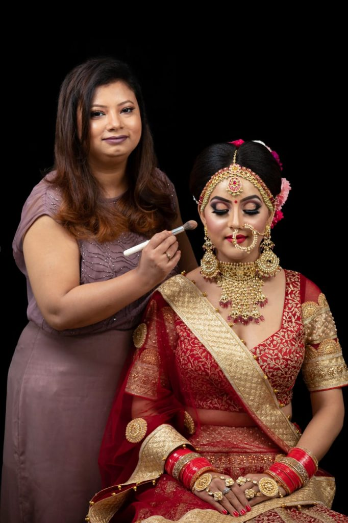 makeup artist in lucknow -Roohi