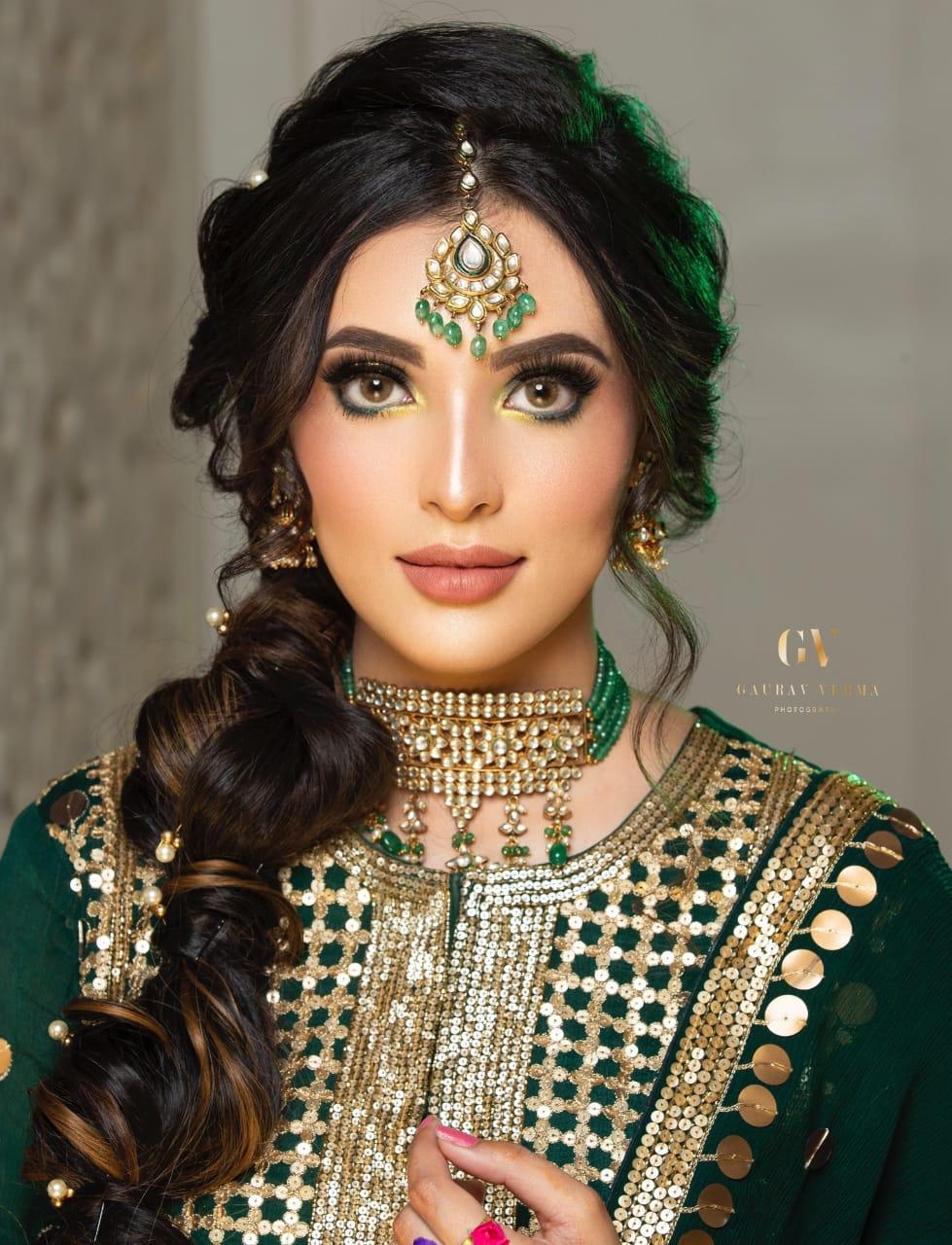 makeup artist in lucknow - Look 1