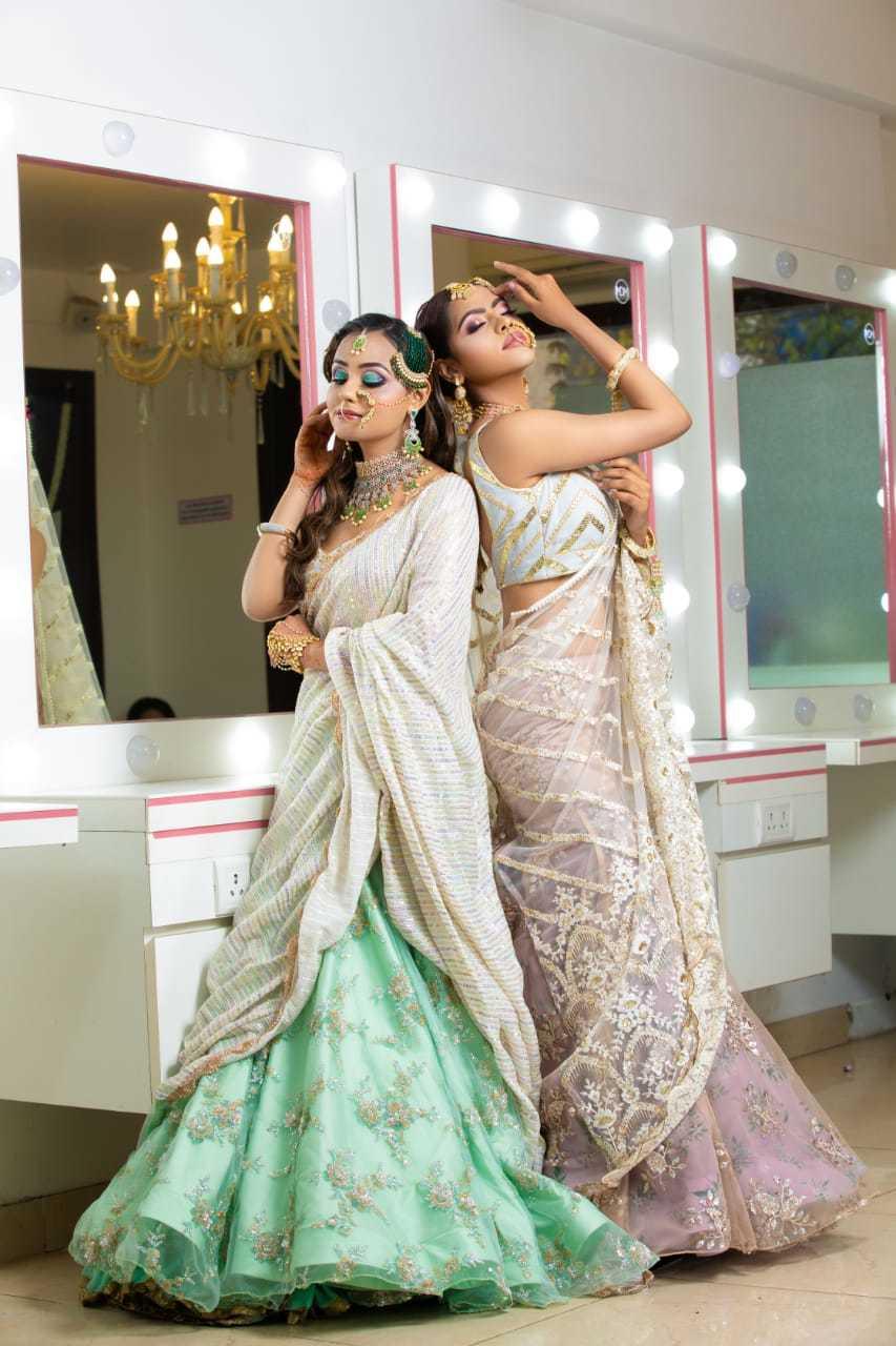 makeup academy in delhi - Meenakshi Dutt look