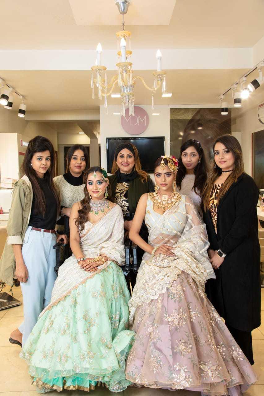 makeup academy Meenakshi DUtt Students
