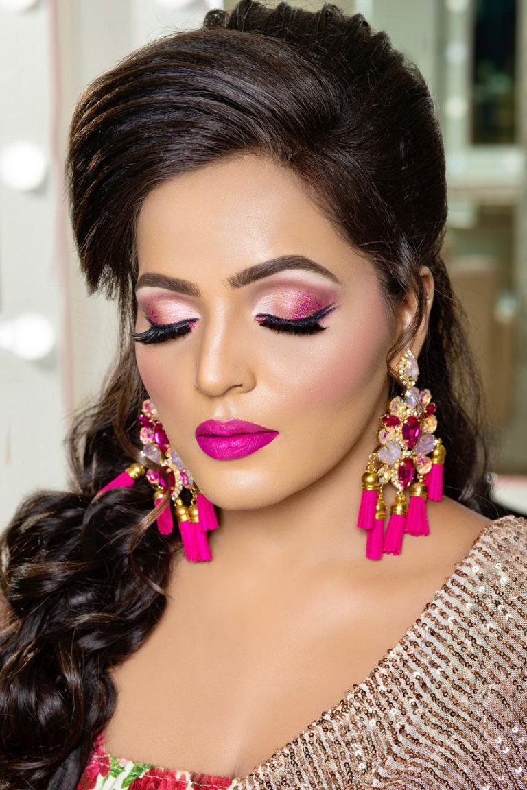 party makeup artist in delhi