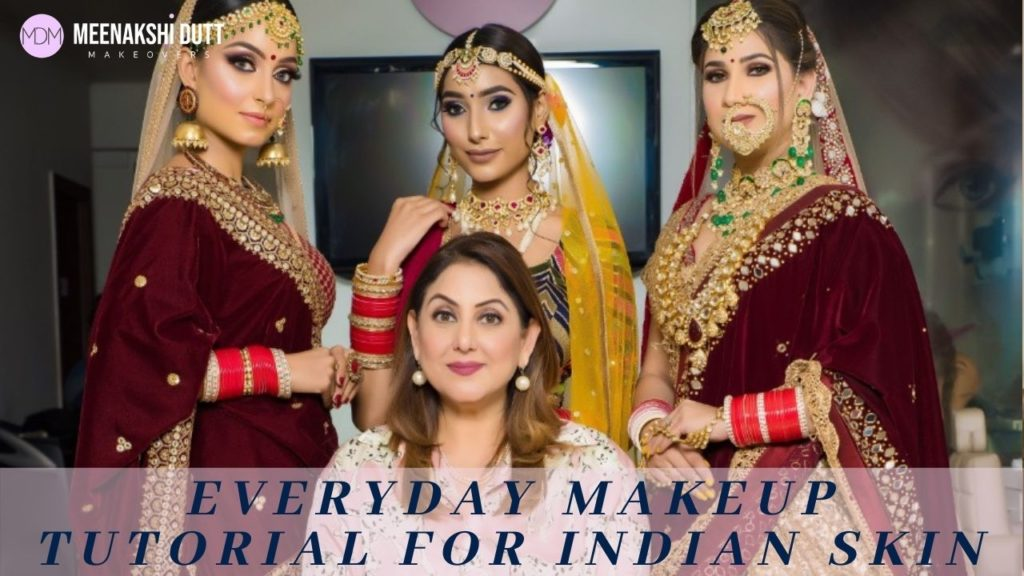 Everyday makeup tutorial For Indian Skin